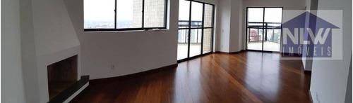 Imagem 1 de 30 de Apartamento Triplex Com 4 Dormitórios À Venda, 450 M² Por R$ 1.090.000,00 - Morumbi - São Paulo/sp - At0004