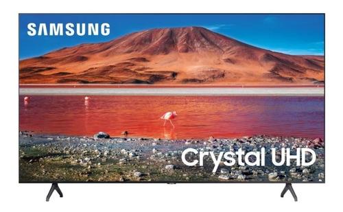 Imagen 1 de 6 de Smart Tv Samsung Series 7 Un43tu7000gczb Led 4k 43