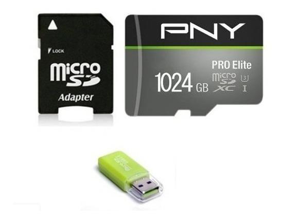 Cartão De Memória Micro Sd 1 Tb Classe 10 - Pny Pro Elite