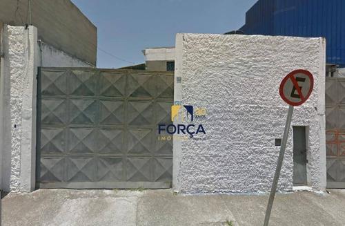 Galpão Para Alugar, 487 M² - Jardim Silvestre - Guarulhos/sp - Ga0839