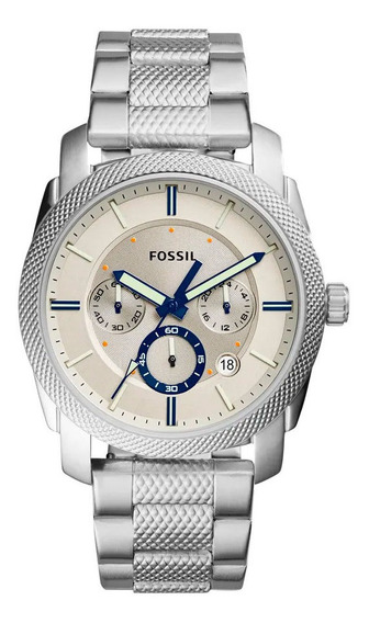 Relógio Fossil Masculino Machine - Fs5324/1bn