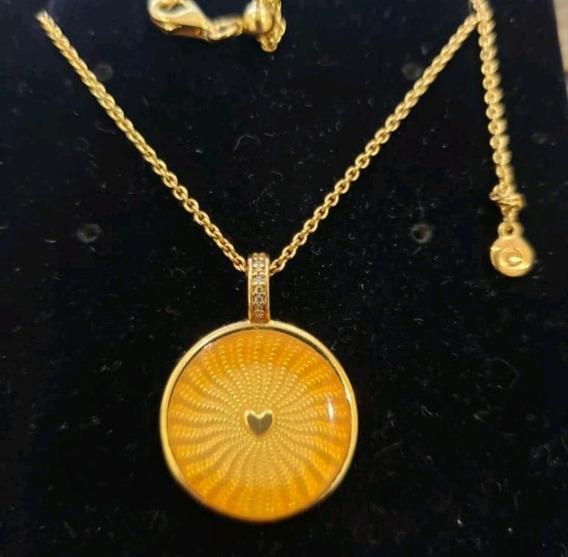 Collar Shine Pandora Rayos De Sol