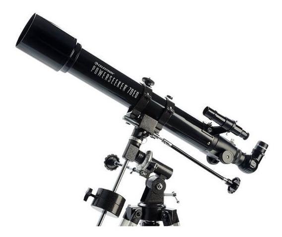 Telescópio Refrator Powerseeker 70eq Celestron Original