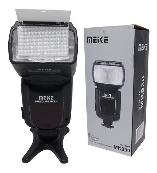 Flash Para Nikon Speedlight Meike Mk930ii D7100 D7200 D3200 D3500 D 3400 D3100 D5100