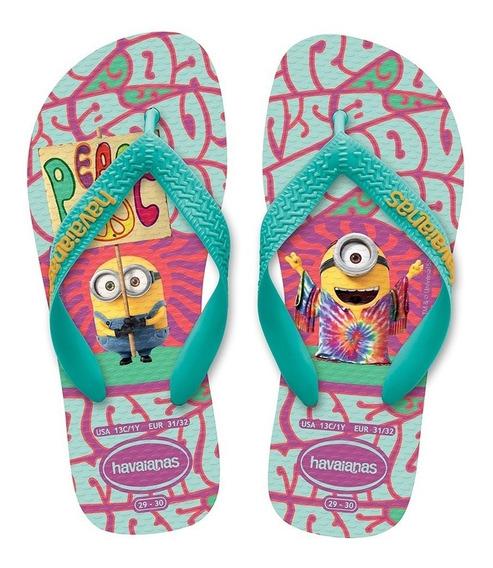 Havaianas Ojotas Niños Minions Toy Story Originales (3126)