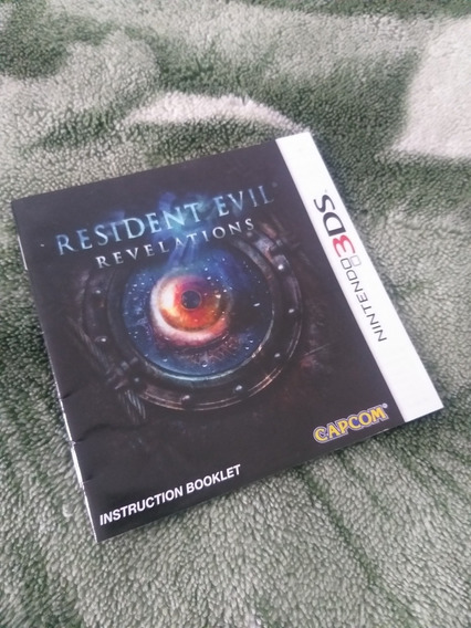 Manual Resident Evil Revelations 3ds (novíssimo)