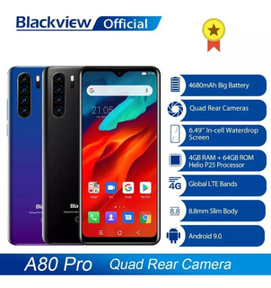 Smartphone Blackview A80 Pro - 4gb Ram + 64gb Rom