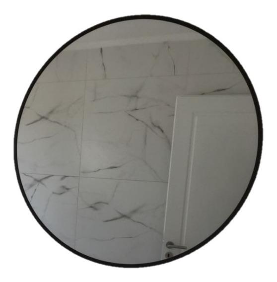 Espejo Redondo Circular 70cm Con Marco A Elección