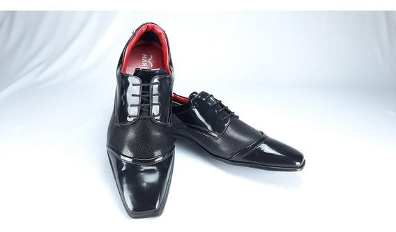 Sapato Social Mariner C/ Cardarço E Verniz 26805