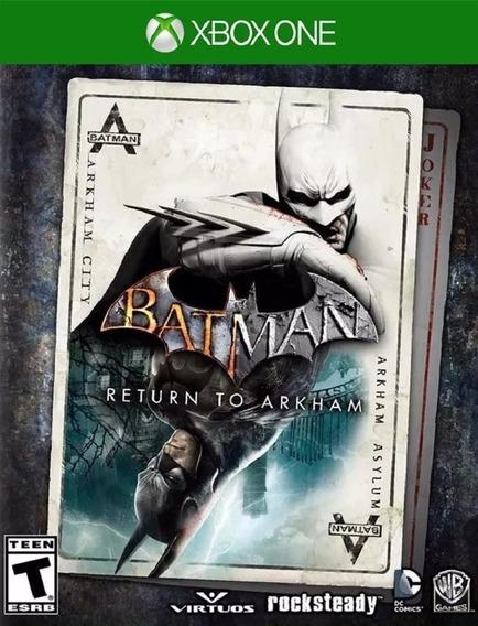 Batman Return To Arkham Xbox One - Código De 25 Dígitos