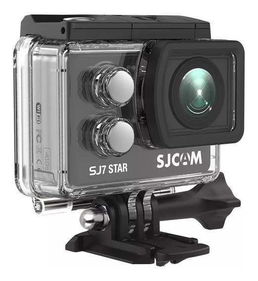 Camera Sjcam Sj7 Star 4k Ultra Hd Wifi Gopro Metal 60fps 30m