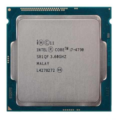 Imagem 1 de 2 de Processador gamer Intel Core i7-4790 CM8064601560113 de 4 núcleos e 3.6GHz de frequência com gráfica integrada