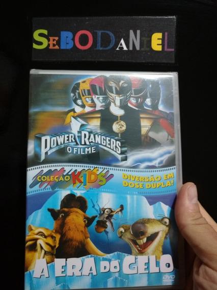 Dvd Power Rangers O Filme E A Era Do Gelo Box Duplo Lacrado