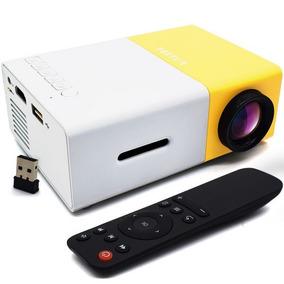 Mini Projetor Data Show Led 600l Full Hd 1080p Hdmi Av Usb