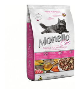 Alimento Para Gato Monello Adulto Premium 7 Kg