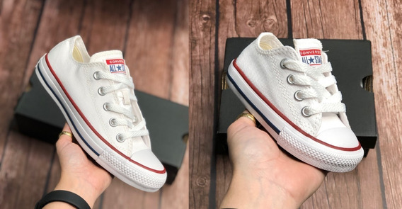 Tenis All Star Converse Original Combo 2 Pares Infantil+adulto Unissex