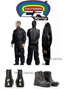 a48e344aa0d Capa De Chuva California Racing Nylon - Acessórios de Motos no ...