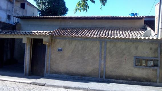 Casa Com 05 Cômodos E 01 Banheiro