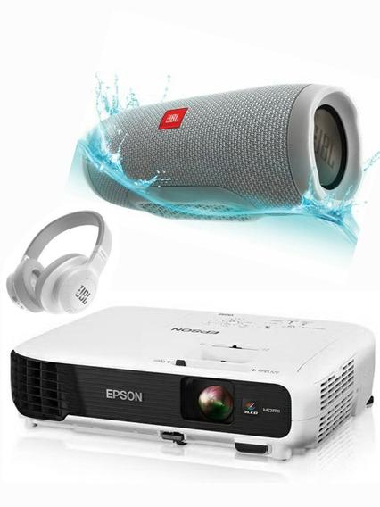 Video Beam Epson S17/ Vs215 Cornetas Jbl/ Pantalla Gratissss