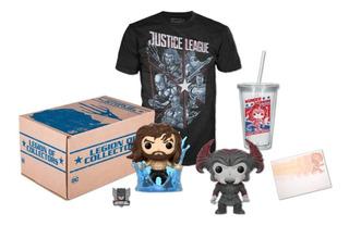 Funko Pop Justice League Aquaman Steppenwolf Dc Vaso Wonder