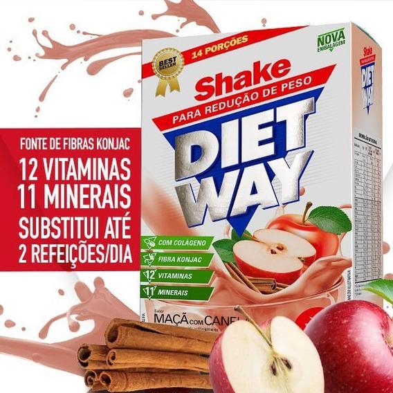 Shake Emagrecedor Diet Way 420g - Auxilia Na Redução De Peso