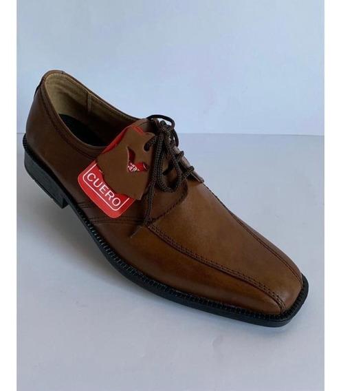 Zapato De Vestir 100% Cuero Art 003