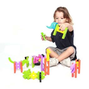 Brinquedos Para Bebês Peças De Montar Big Blok Estrela + Nfe