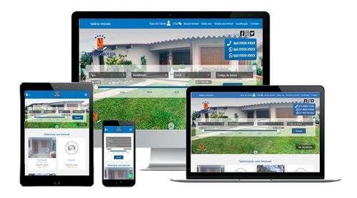 Site E Sistema Para Imobiliária E Corretores - R$80,00