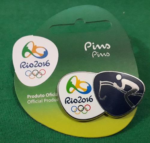 Imagem 1 de 1 de Pin Olímpico - Rio 2016 - Hipismo Saltos - Memorabilia