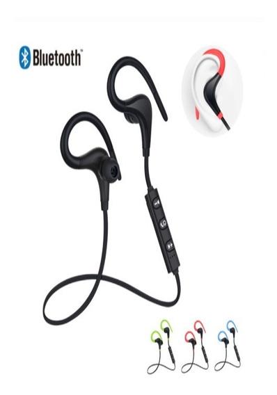 Fone De Ouvido Bluetooth, Tipo Gancho Para Orelha-esportivo