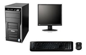 Cpu Completa Core 2 Duo / 4gb / Hd 250 / Monitor 17