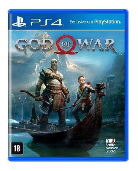 God Of War 4 - Ps4 - Mídia Física - Novo A Pronta Entrega