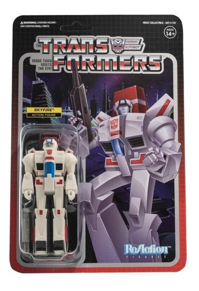 Super 7 Reaction Transformers Skyfire