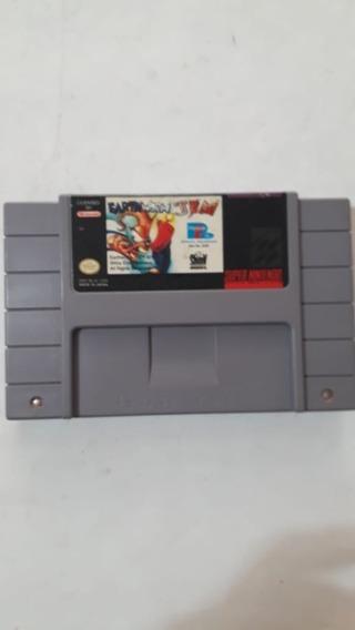 Earthworm Jim *original* P/ Super Nintendo