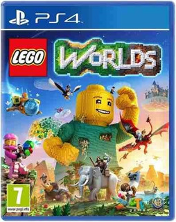 Juego Ps4 Lego Worlds Videogame
