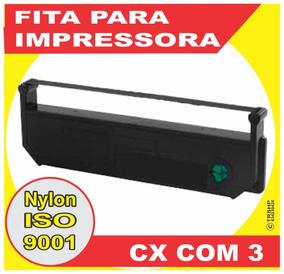 03 Fitas Das Impressoras Cheque Bematech Dp 10 Dp 20 * Plus