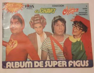Album El Chavo Super Figus Año 1990 Completo
