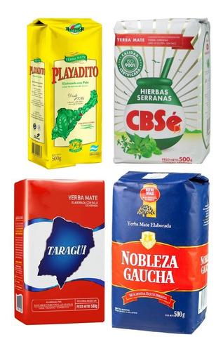 Yerba Mate Argentina Cbse Union Amanda Medio Kilo (500gr)