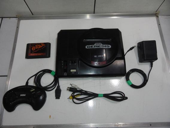 Mega Drive Genesis O Melhor Console Jogos Tudo Original C01