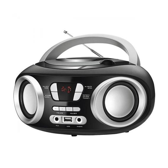 Rádio Portátil Boom Box Fm E Cd Player Mondial