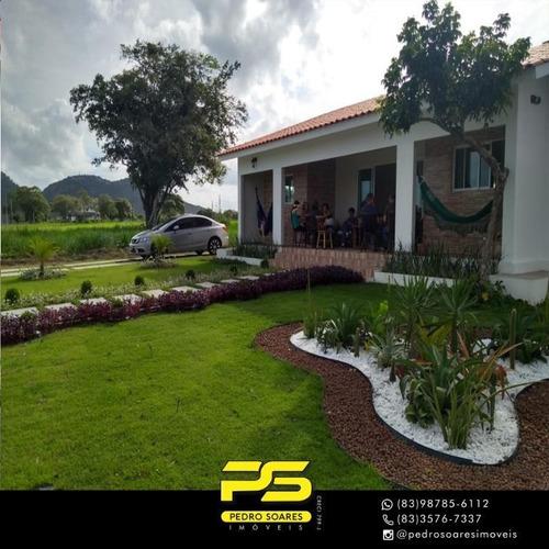 Apartamento Com 2 Dormitórios À Venda, 140 M² Por R$ 500.000 - Zona Rural - Gurinhém/pb - Ap3389
