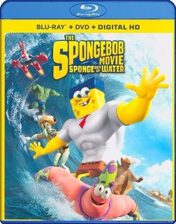 Blu-ray + Dvd The Spongebob Movie 2 / Bob Esponja 2