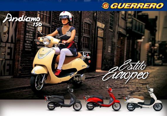 Scooter Guerrero 150 Andiamo