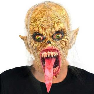Máscara Monstruo Lengua Disfraz Halloween Upd Egresados Bari
