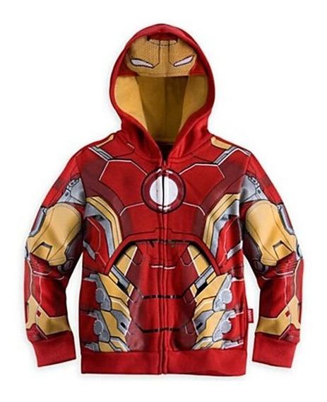 Sudadera / Sueter Avangers Iron Man Super Heroes Nueva