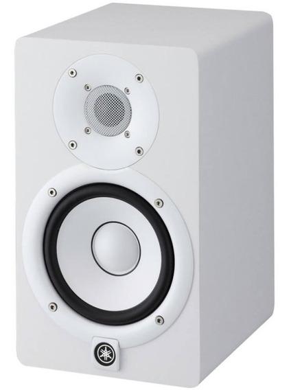 Monitor De Referencia Yamaha Hs7 Bi-amplificado Branco Com Woofer 6,5 De 60w E Driver 1 35w 127v