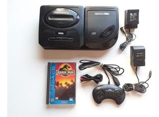 Sega Cd Completo + Mega Drive 3 Completo + Juego