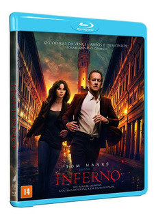 Blu-ray Inferno - Dan Brown Tom Hanks - Original ( Lacrado)