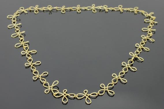 Colar Em Ouro Amarelo 18k (1330)
