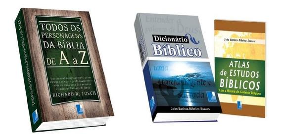 Todos Os Personagens Da Bíblia De A A Z + Dicionário Bíblico